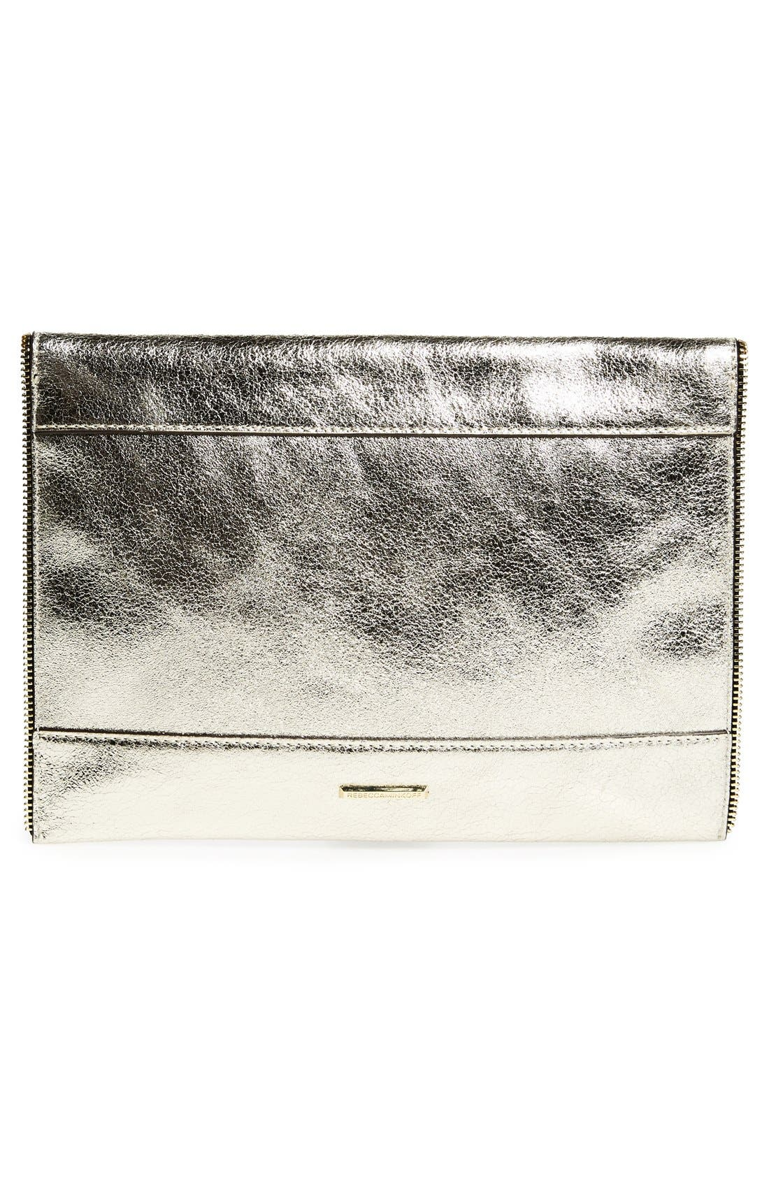 ,                             Leo Envelope Clutch,                             Alternate thumbnail 311, color,                             901