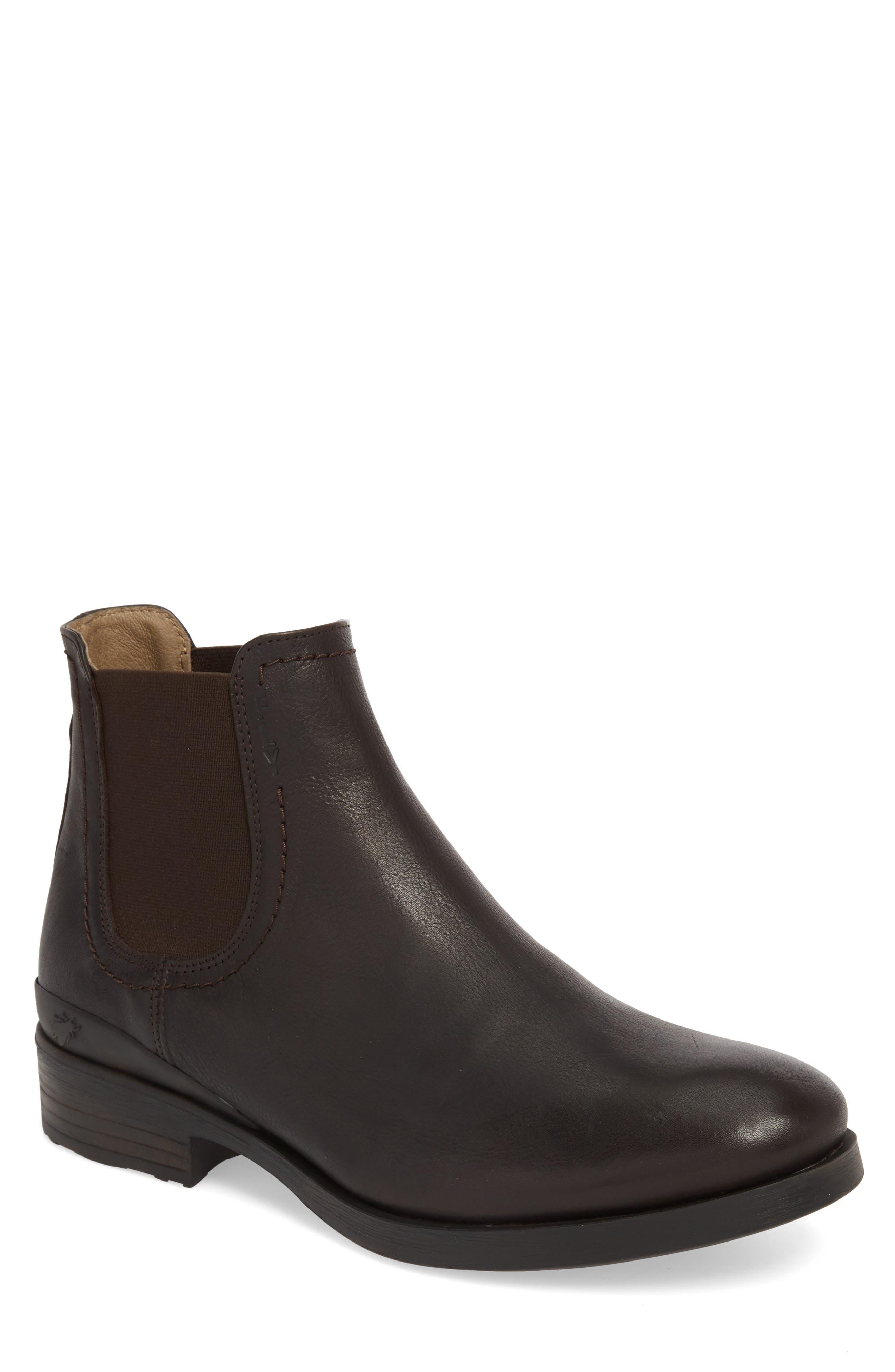 Fly London Meko Chelsea Boot, Brown