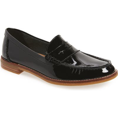 Sperry Seaport Penny Loafer, Black