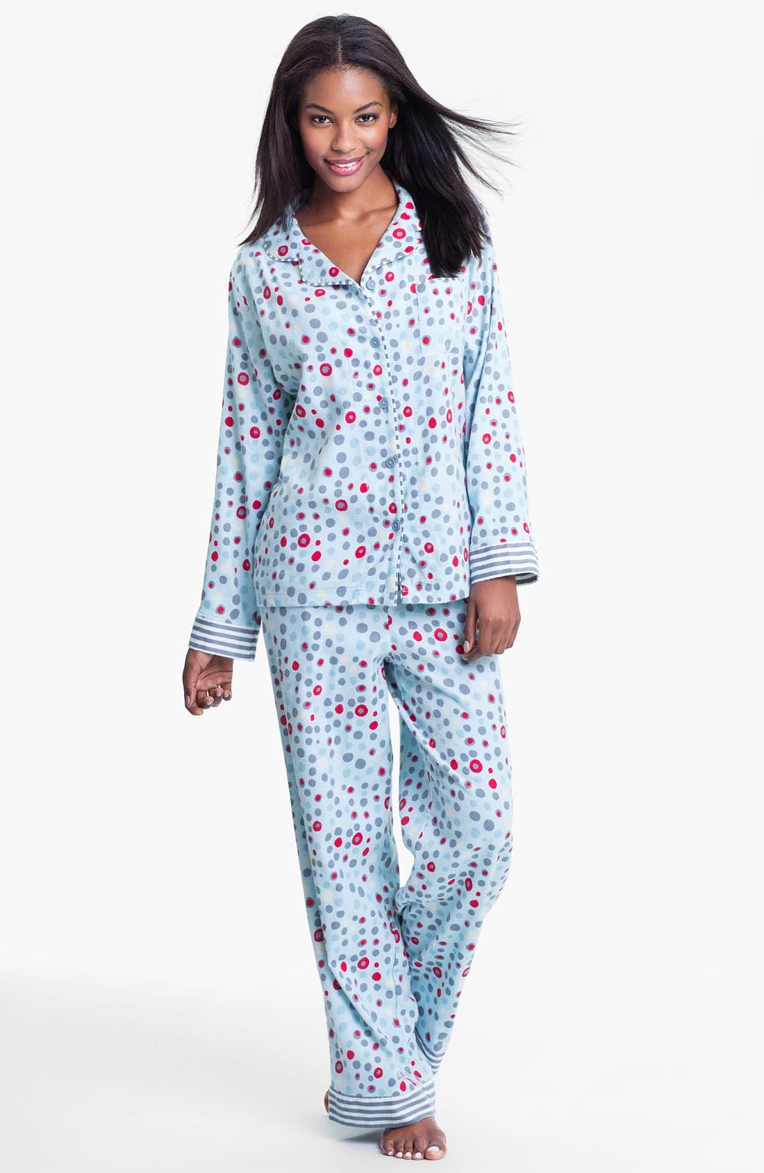 ,                             Flannel Pajamas,                             Main thumbnail 31, color,                             441