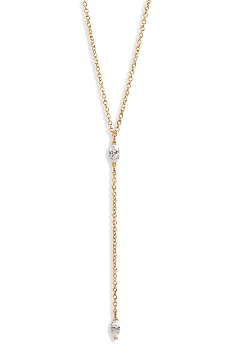 Gorjana Lena Lariat Necklace