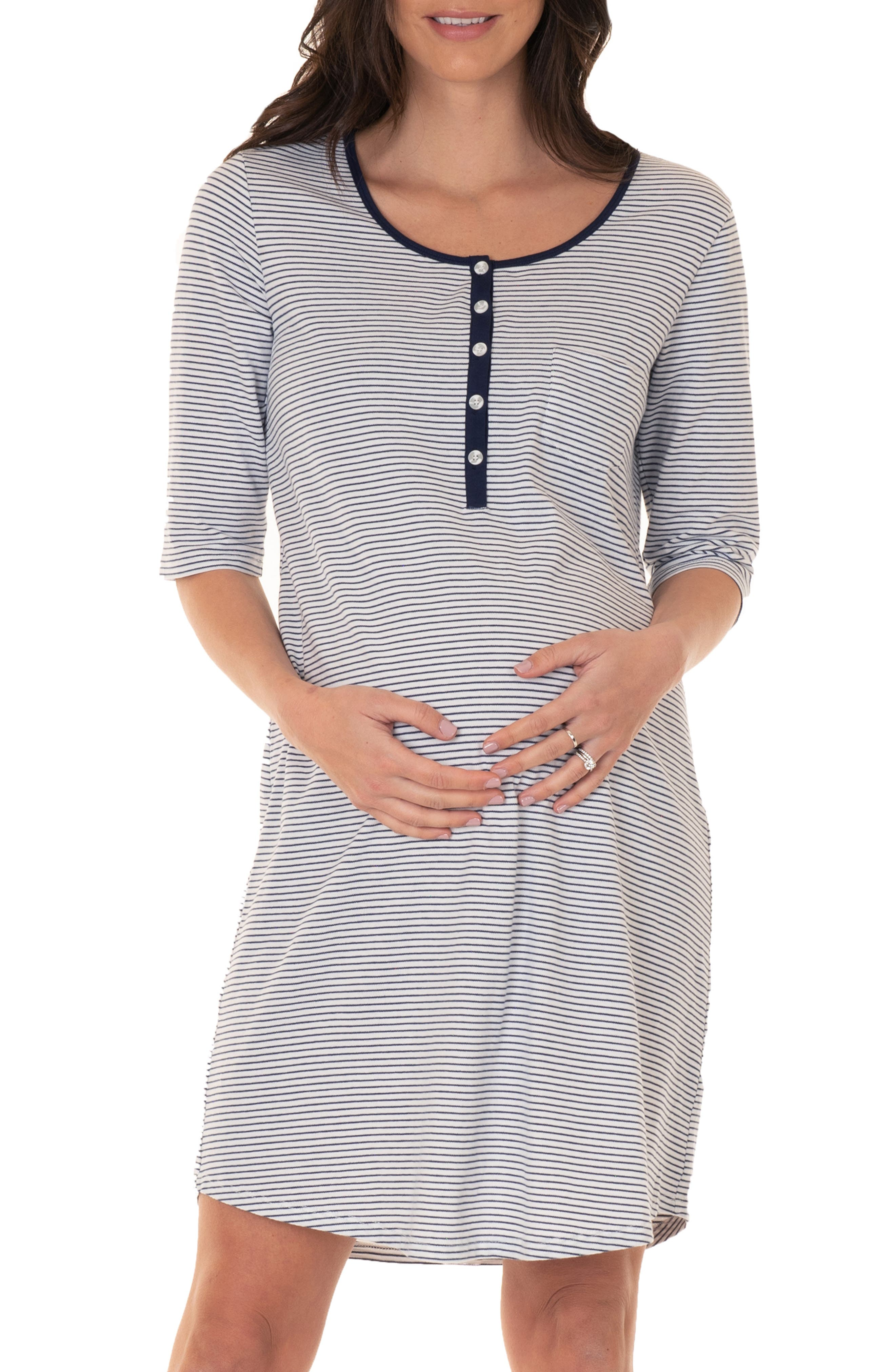 Maternity/nursing Sleep Dress