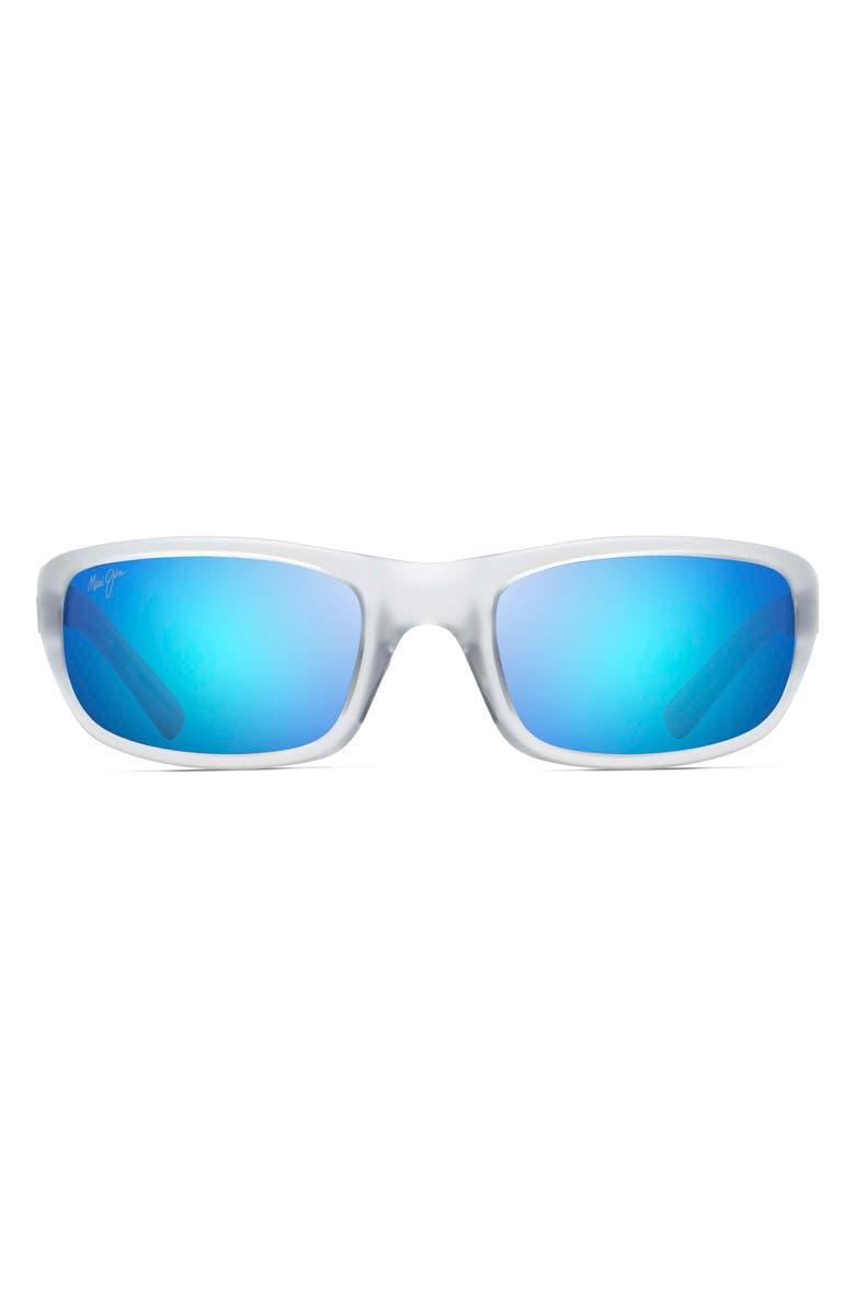MAUI JIM 'Stingray - PolarizedPlus<sup>®</sup>2' 56mm Sunglasses, Main, color, 100