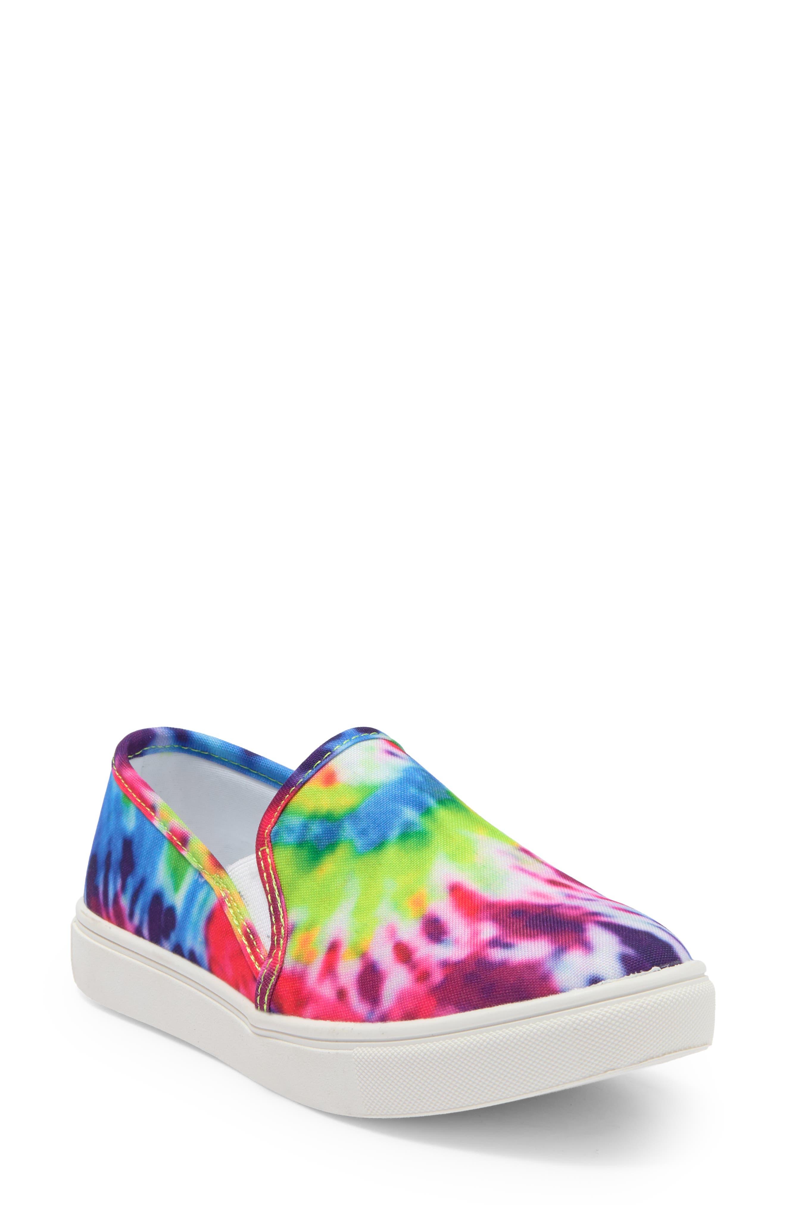 Image of Steve Madden Exit Glitter Slip-On Sneaker