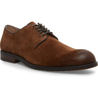 Steve Madden Briton Plain Toe Derby, Brown