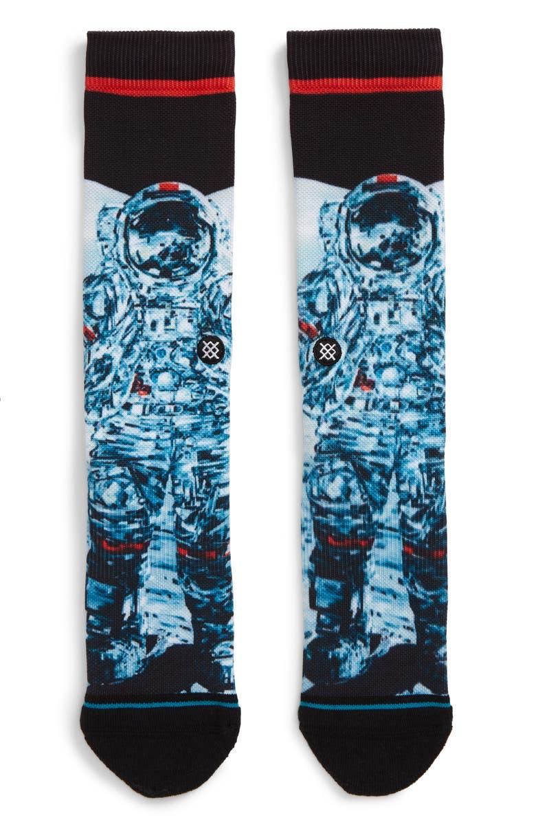 STANCE Mankind Socks, Main, color, BLACK
