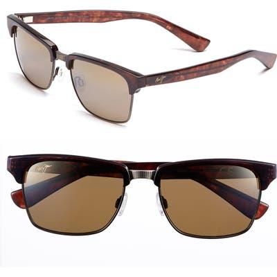Maui Jim Kawika 5m Polarizedplus2 Sunglasses - Tortoise/ Gold