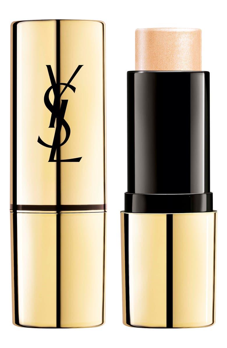 YVES SAINT LAURENT Touche Eclat Shimmer Stick Highlighter, Main, color, N1 LIGHT GOLD
