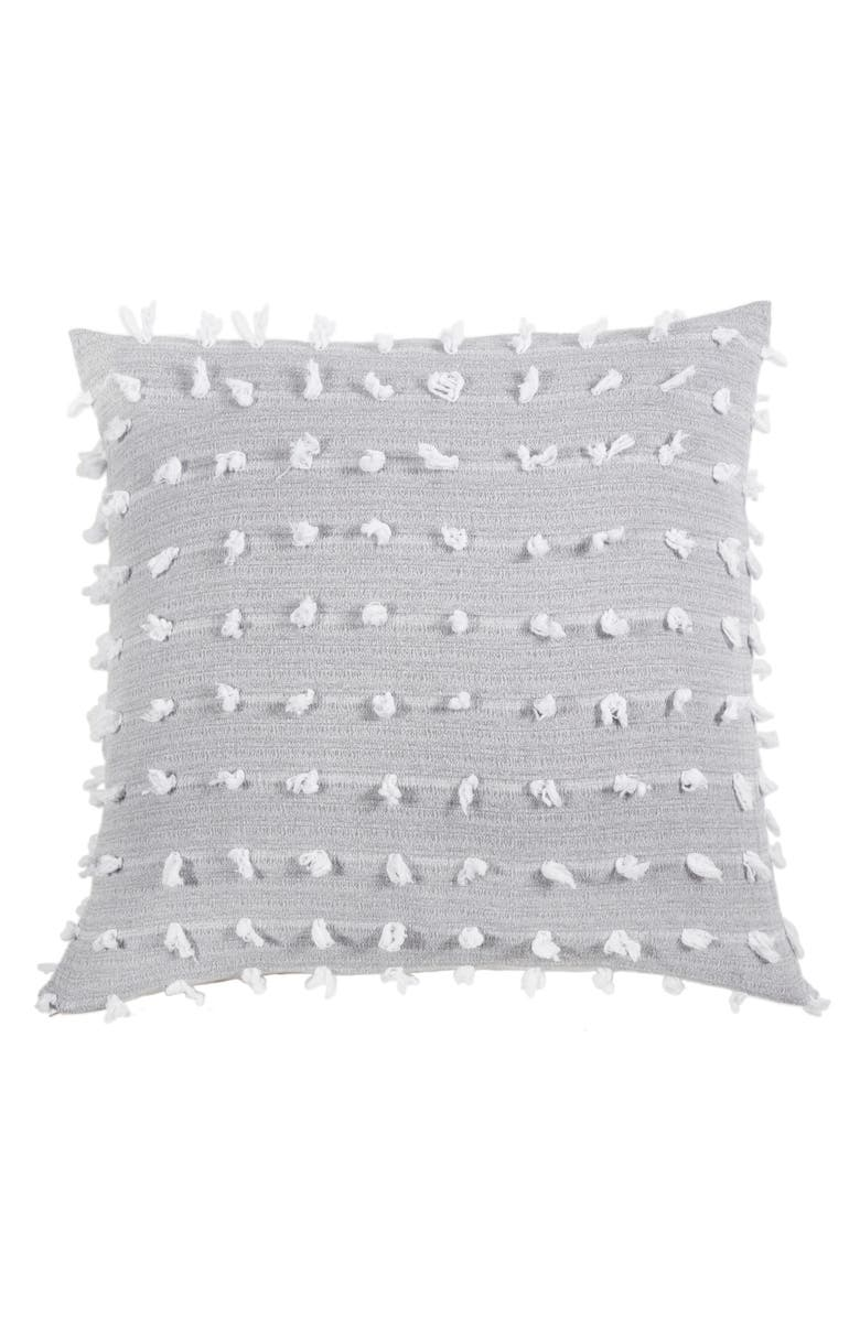 POM POM AT HOME Poppy Accent Pillow, Main, color, GREY