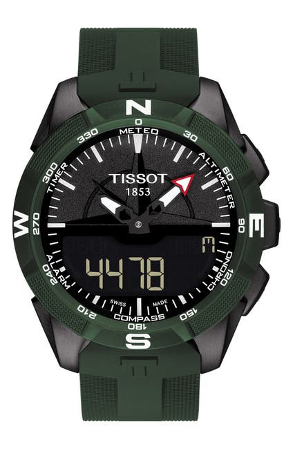 Image of Tissot Men's T-Touch II Strap Watch, 45mm