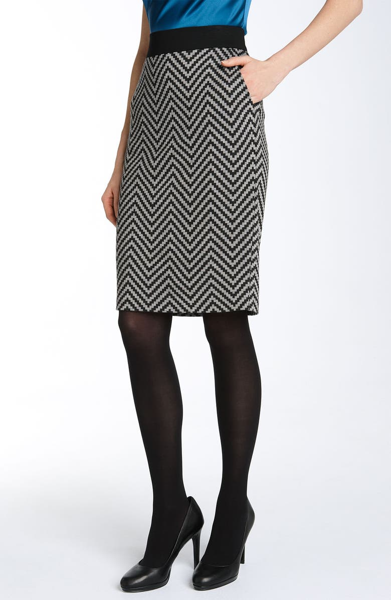 TRINA TURK 'Bambi' Pencil Skirt, Main, color, 020