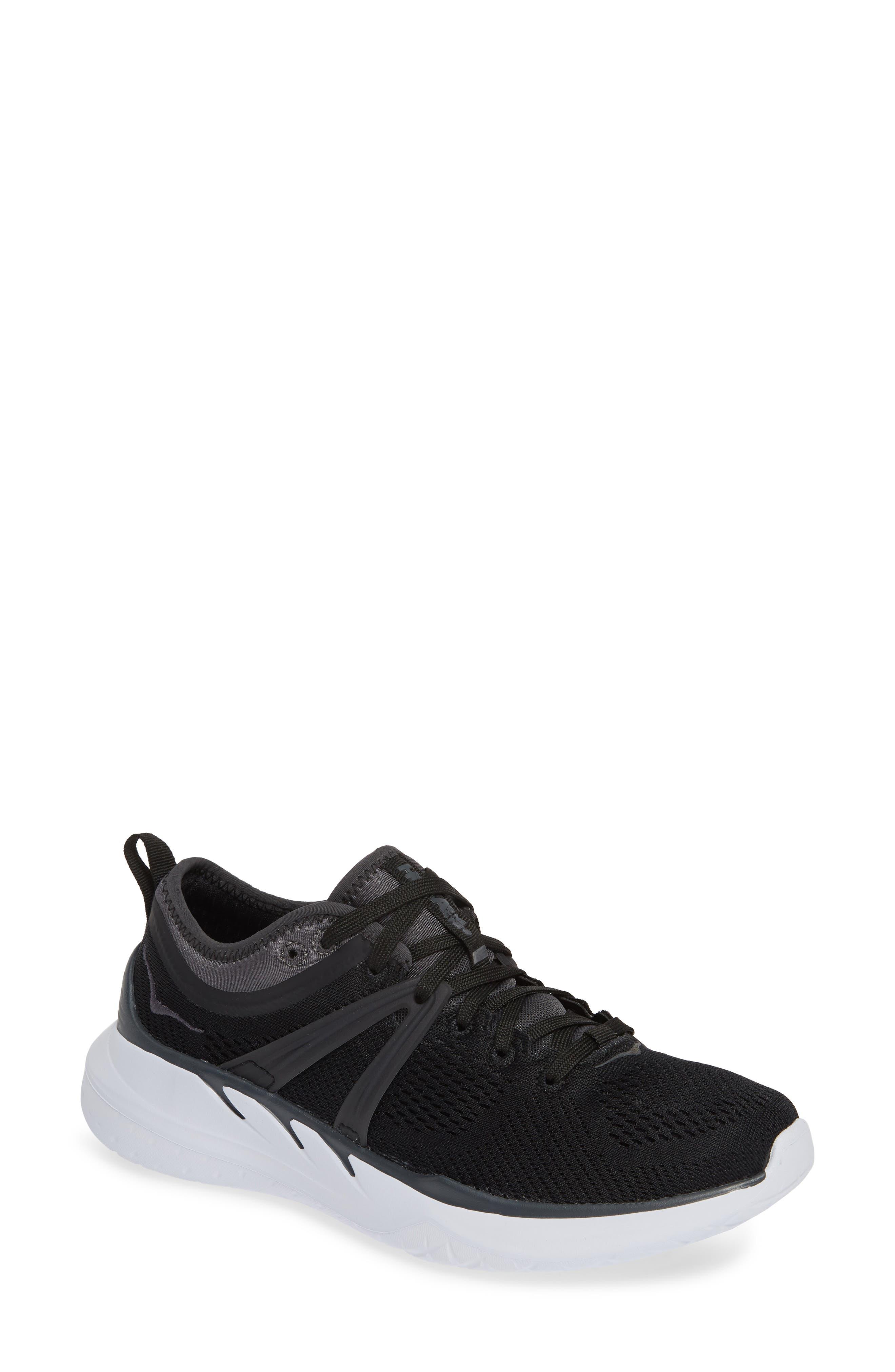 Hoka One One Tivra Running Shoe, Black