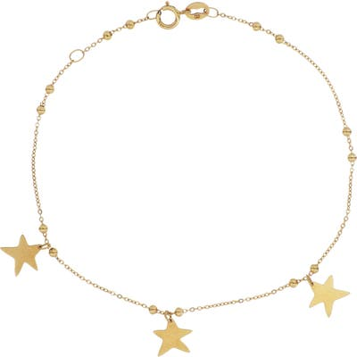 Bony Levy 14K Gold Star Charm Bracelet (Nordstrom Exclusive)