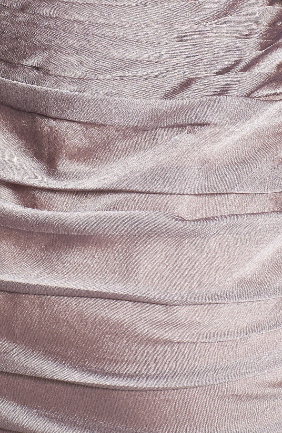 ,                             Ruched Strapless Cationic Chiffon Dress,                             Alternate thumbnail 19, color,                             262