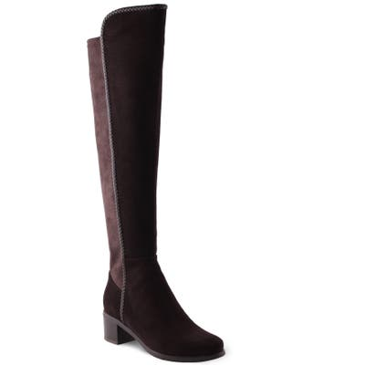 Aquadiva Florence Waterproof Over The Knee Boot, Brown