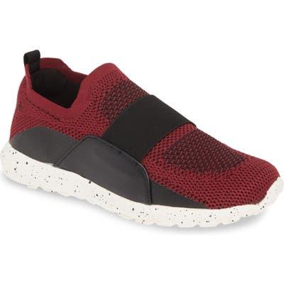 Bernie Mev. Asako Slip-On Sneaker, Burgundy