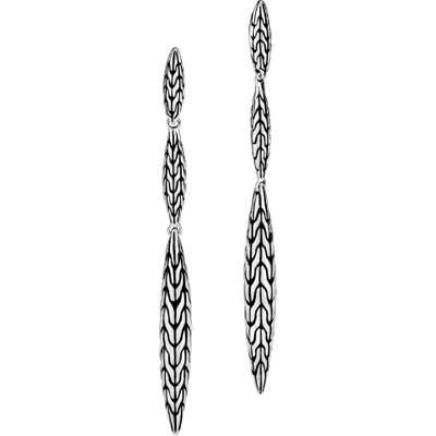 John Hardy Classic Chain Spear Drop Earrings
