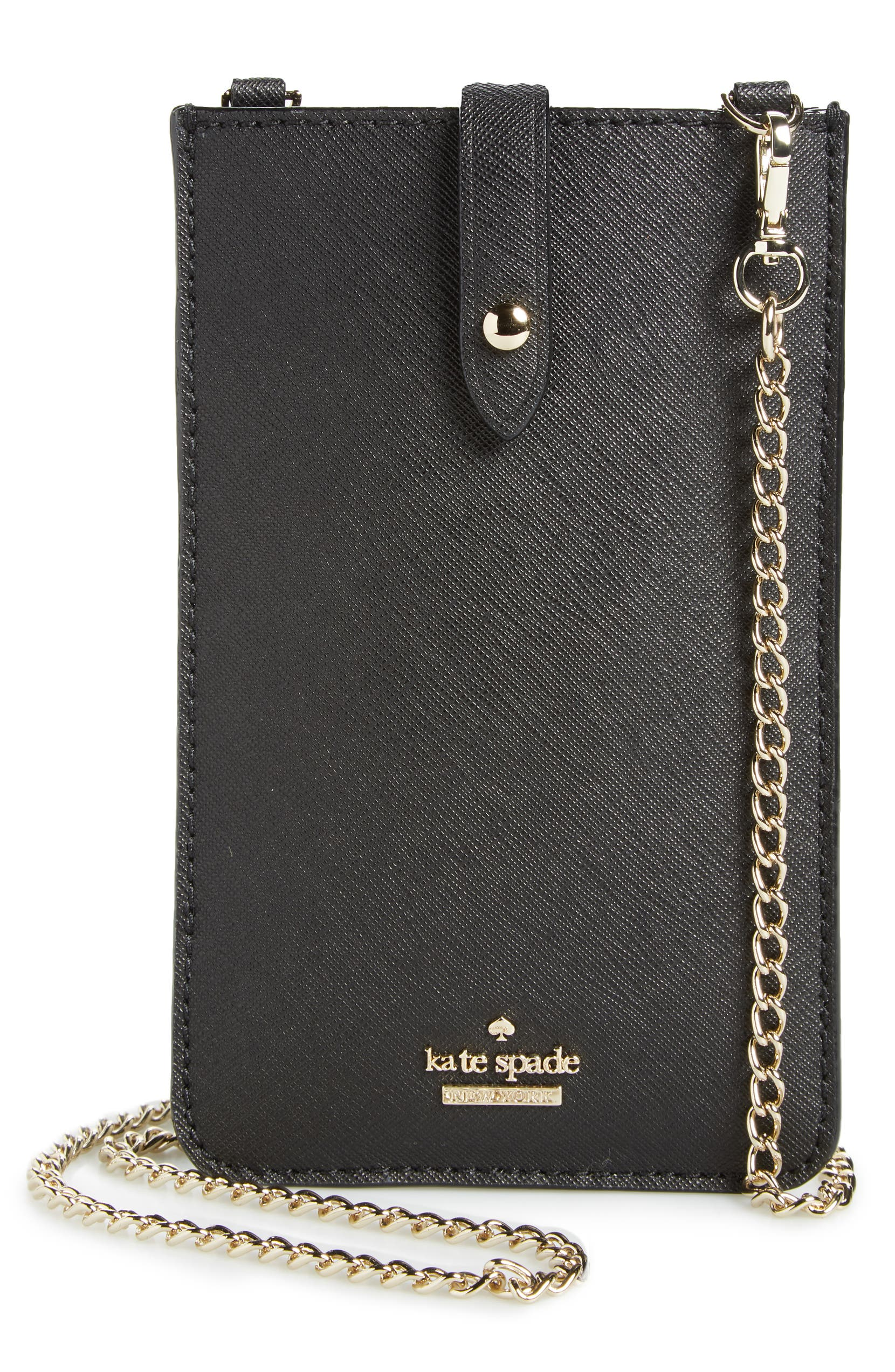 new concept 4929c ce3bf leather iPhone crossbody bag