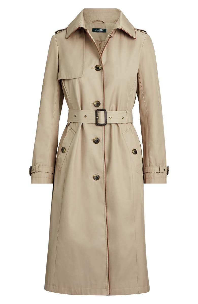 1940s Style Coats and Jackets for Sale Womens Lauren Ralph Lauren Hooded Trench Coat $154.10 AT vintagedancer.com