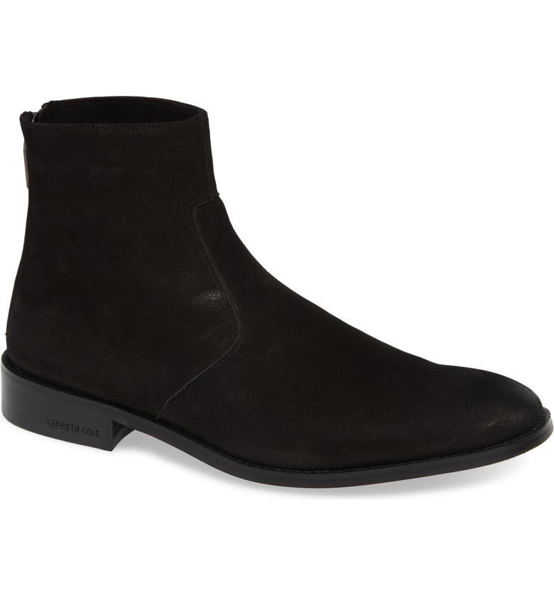 KENNETH COLE NEW YORK Roy Zip Boot, Main, color, 001