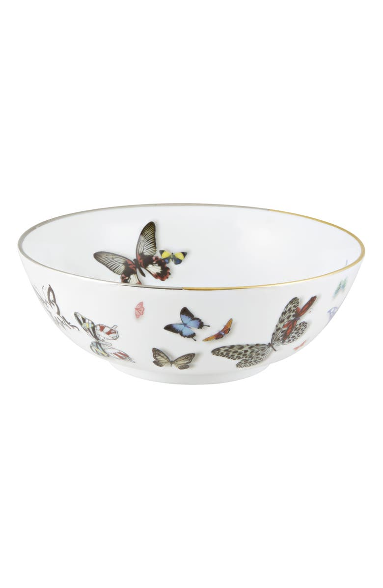 CHRISTIAN LACROIX Butterfly Parade 7-Inch Bowl, Main, color, MULTI