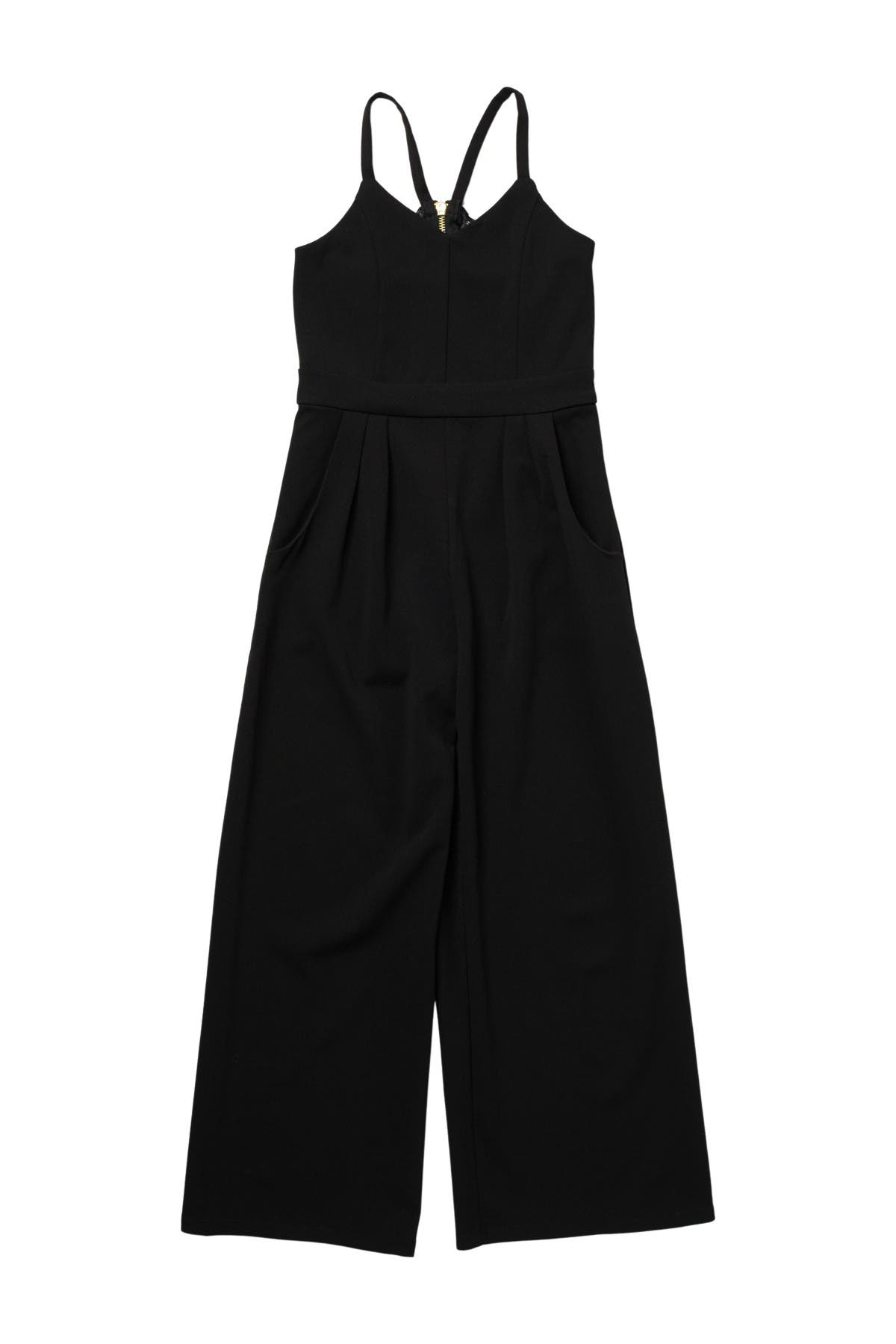 Image of Love, Nickie Lew Lace Back Sleeveless Jumpsuit
