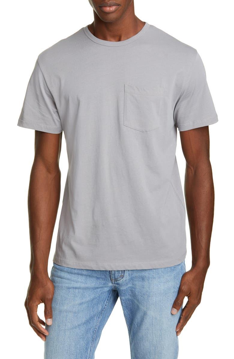 CLOSED Basic Pocket T-Shirt, Main, color, CEMENT