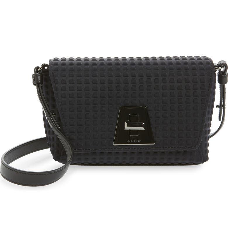 AKRIS Little Anouk Day Bag, Main, color, BLACK