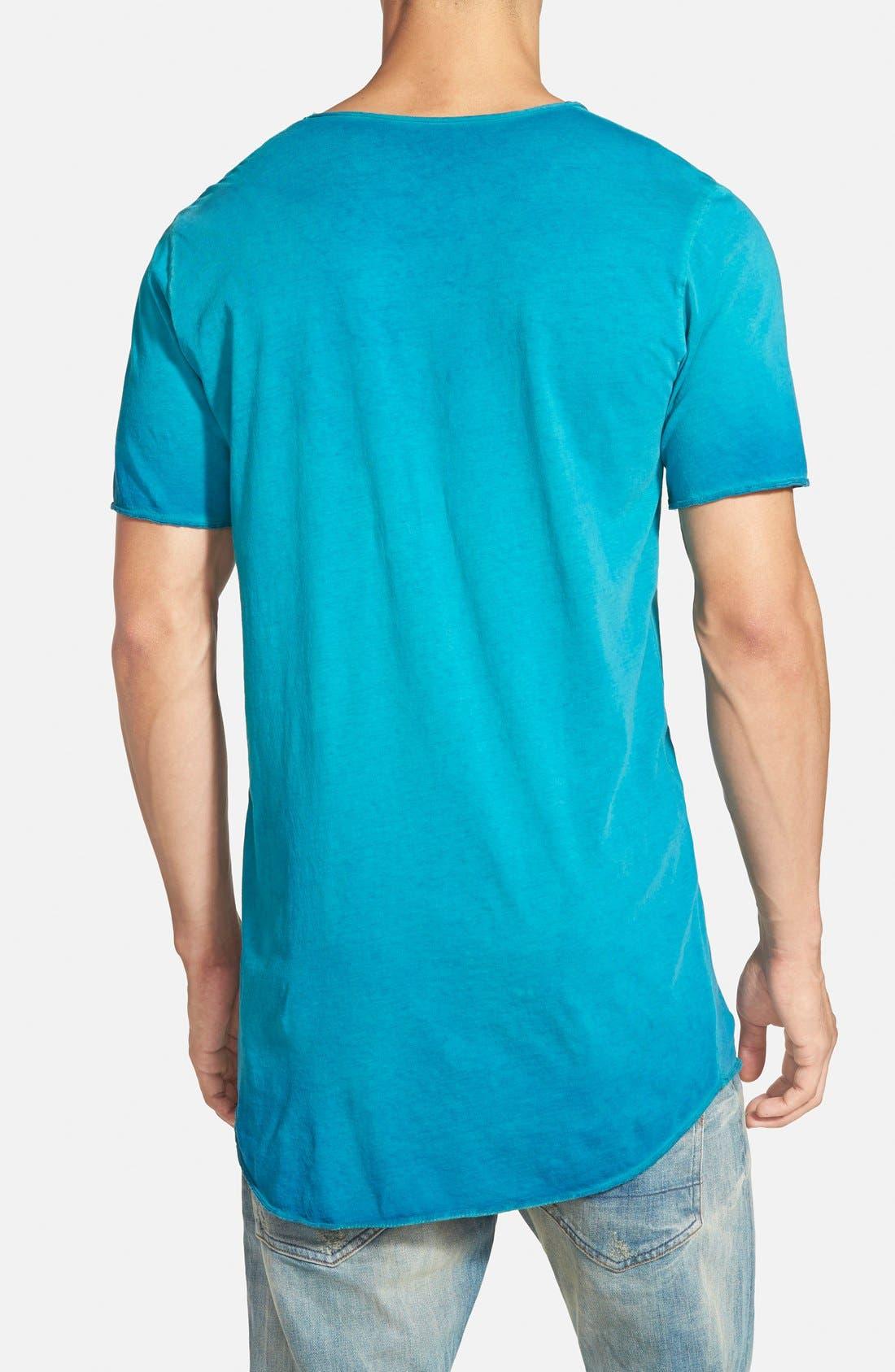 ,                             U-Neck T-Shirt,                             Alternate thumbnail 3, color,                             430