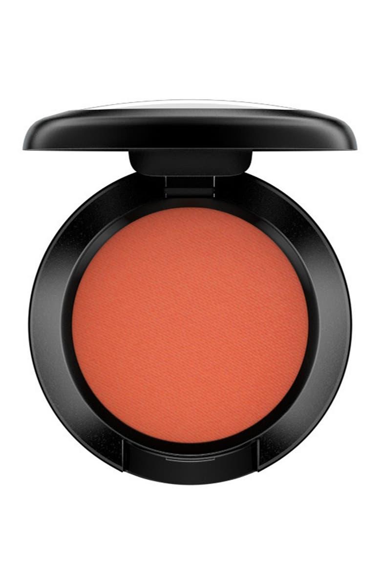MAC COSMETICS MAC Matte Eyeshadow, Main, color, RED BRICK (M)