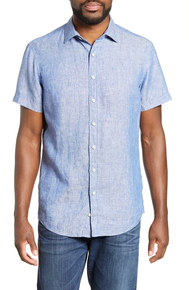 RODD & GUNN Saltwater Creek Regular Fit Shirt, Main, color, CHAMBRAY