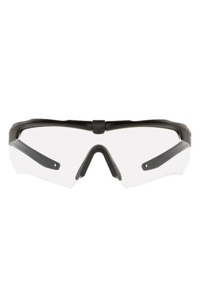 Oakley Ess Crossbow Gasket 180mm Ppe Shield Safety Glasses In Matte Black