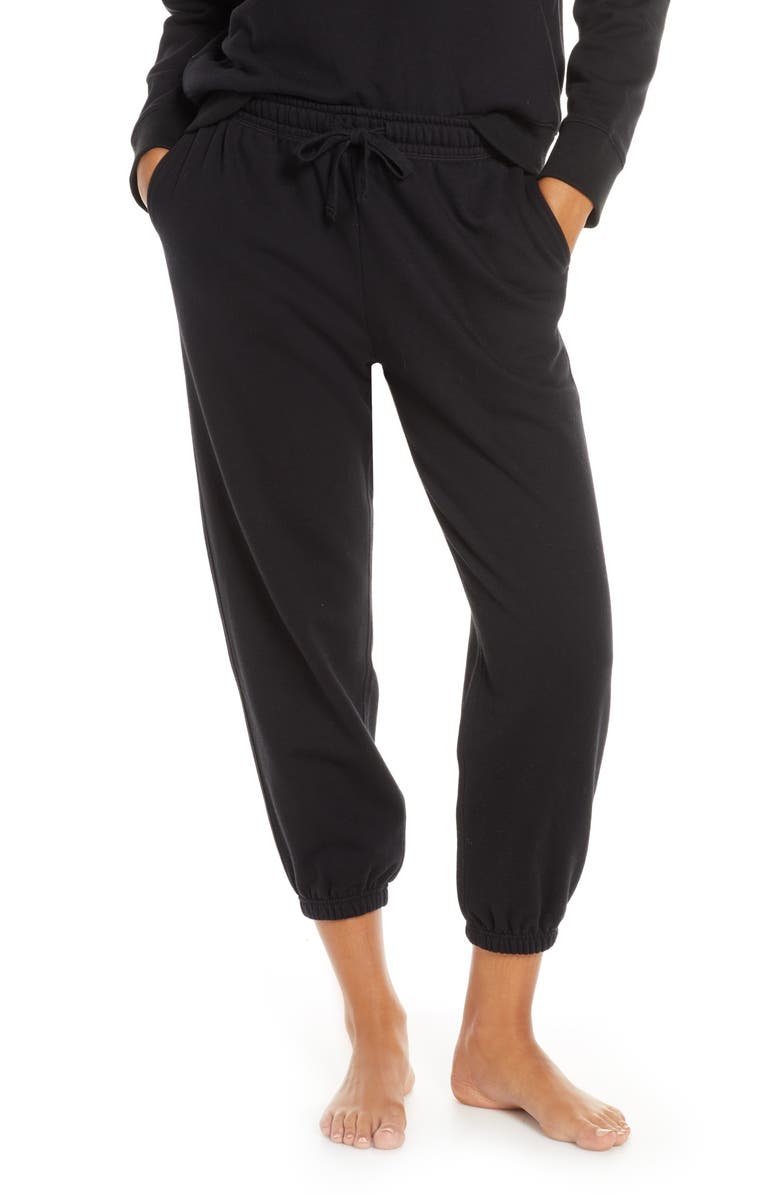 RICHER POORER Lounge Jogger Pants, Main, color, BLACK