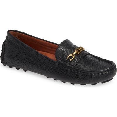 Coach Crosby Driver Loafer, Black