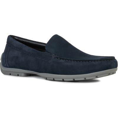 Geox Moner 2Fit Driving Shoe, US / 47EU - Blue