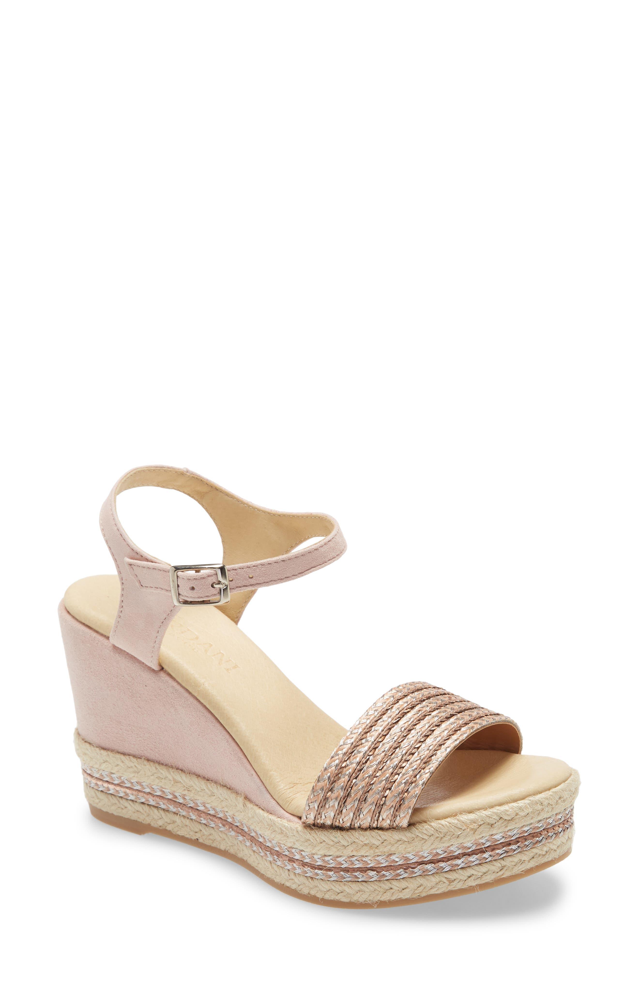 Evie Platform Wedge Sandal