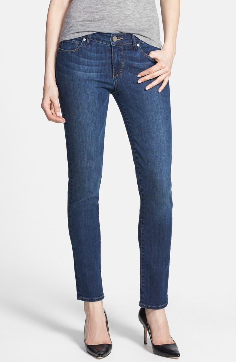PAIGE Denim 'Skyline' Skinny Ankle Jeans, Main, color, 400