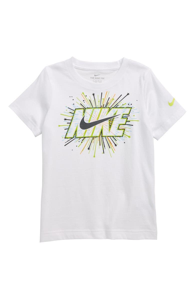 Nike Block Americana Graphic T Shirt Toddler Boys Little Boys