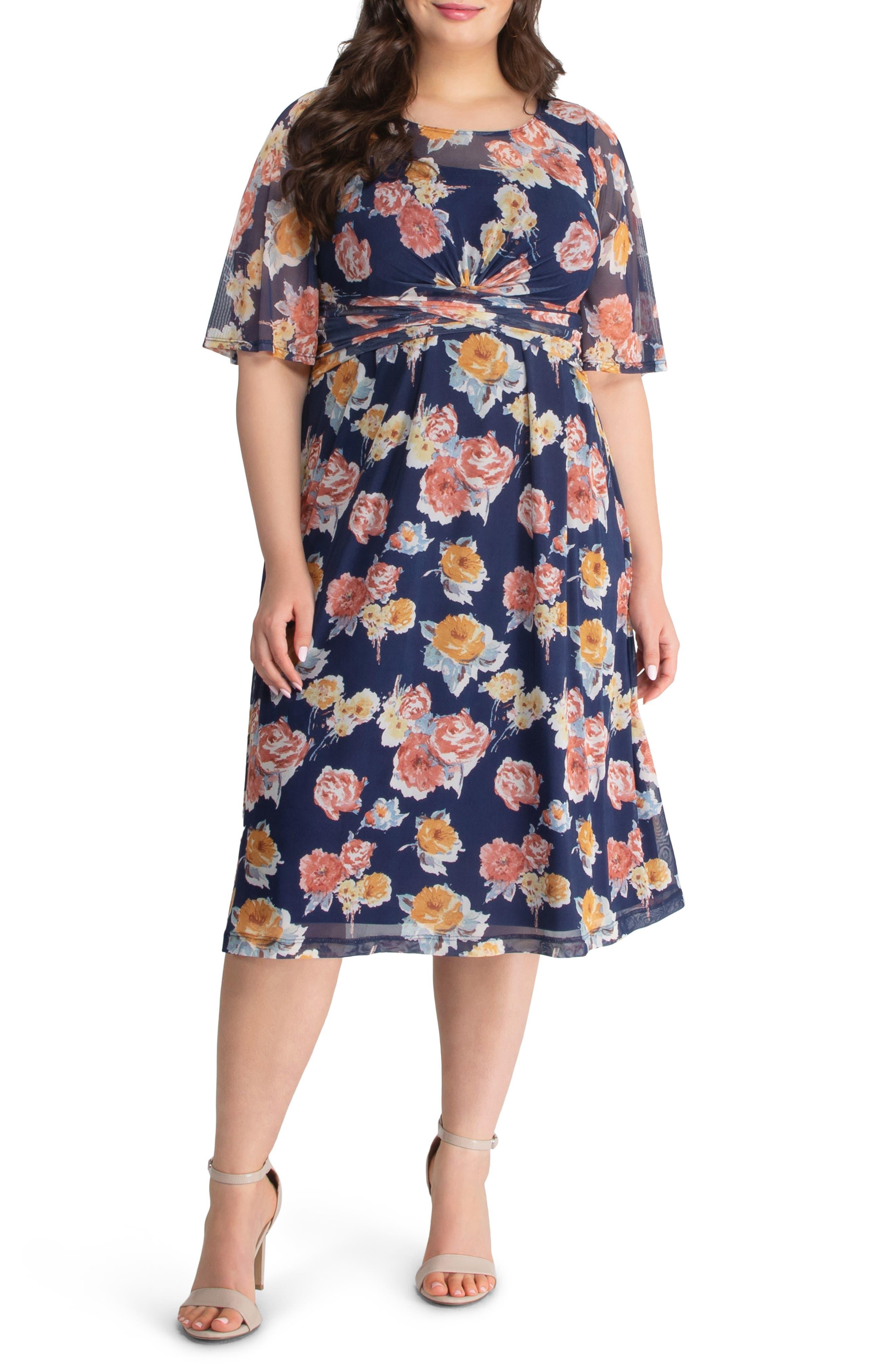 Katarina Floral Party Dress