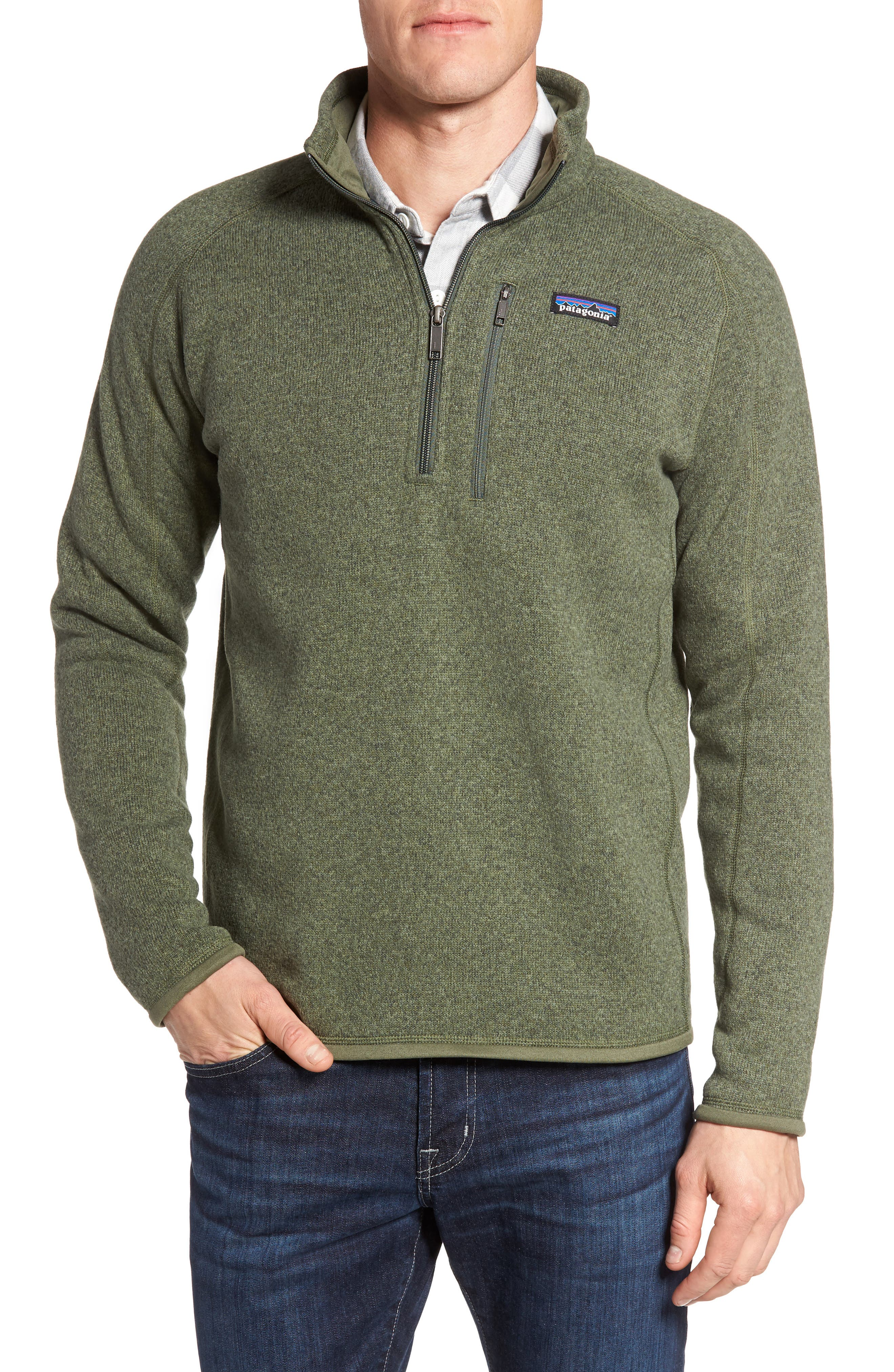 ,                             Better Sweater Quarter Zip Pullover,                             Main thumbnail 142, color,                             301