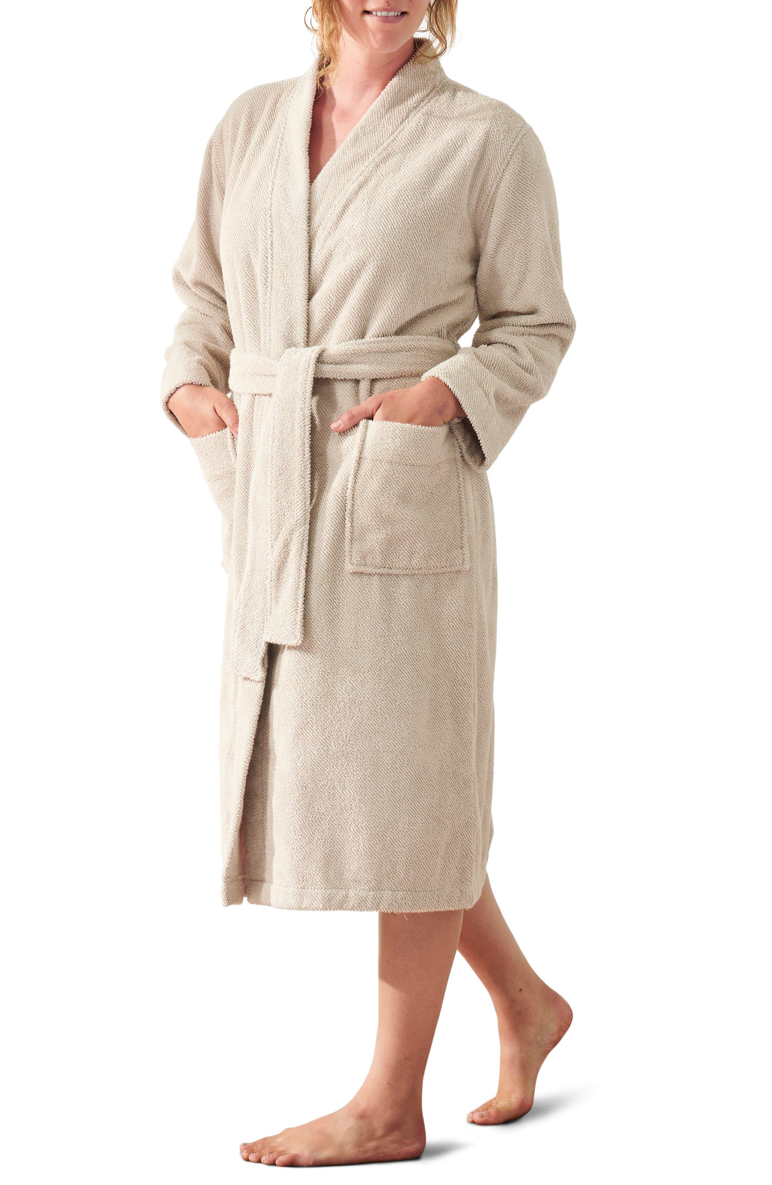Air Weight(TM) Unisex Organic Cotton Robe