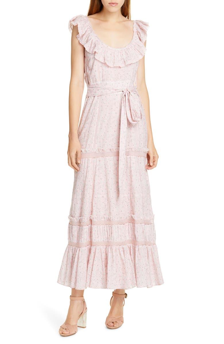LOVESHACKFANCY Joanne Maxi Dress, Main, color, 685