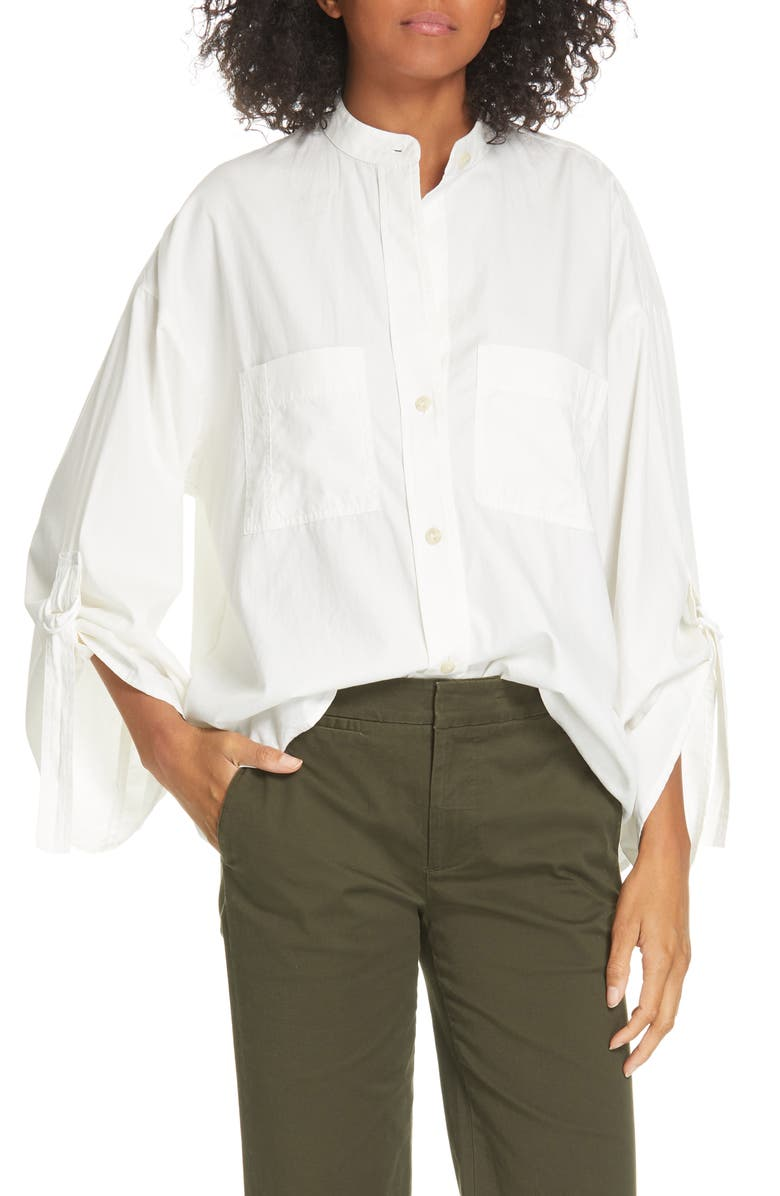 ffd69411a9181 D-Ring Sleeve Utility Shirt, Main, color, 100