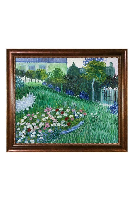 "Image of Overstock Art The Garden of Daubigny with Verona Cafe Frame, 24"" x 28"""