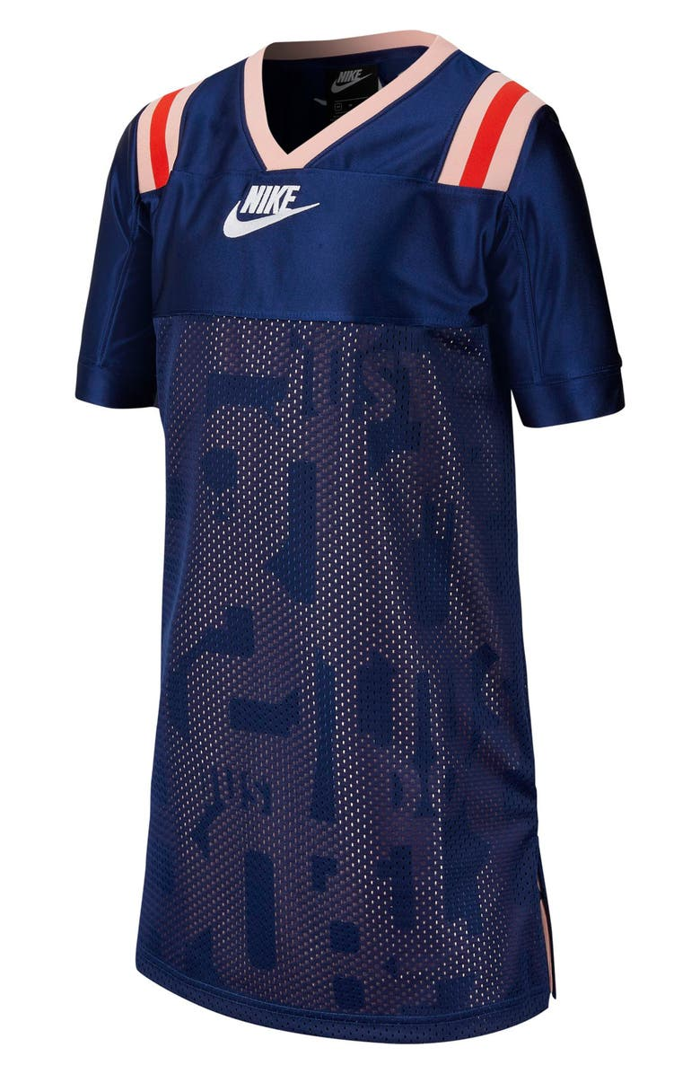 NIKE Sports History Classic Jersey, Main, color, BLUE VOID/ WHITE