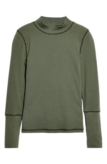 Free People Sweaters THE RICKIE MOCK NECK SWEATER
