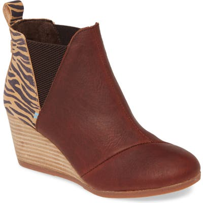 Toms Kelsey Bootie- Brown