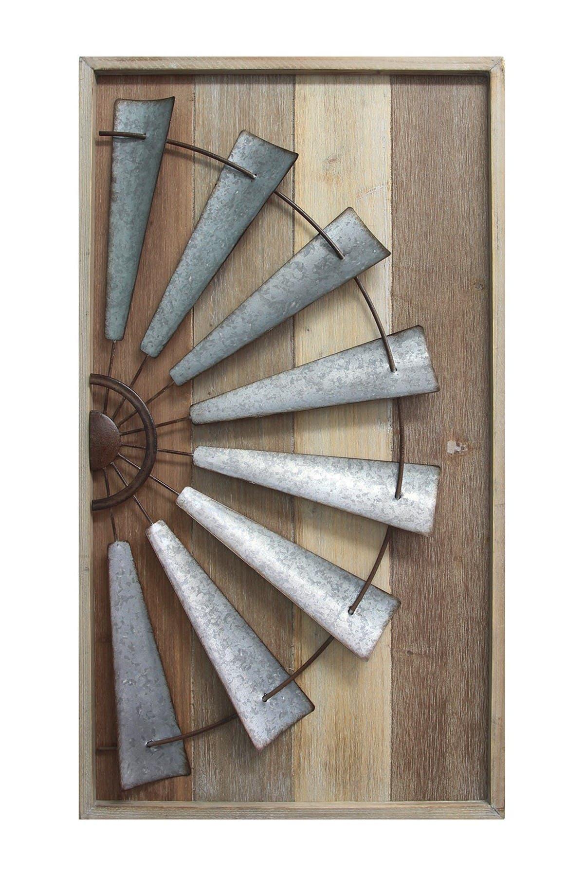 Image of Stratton Home Multi Windmill Wall Decor