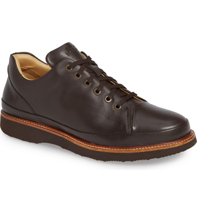 SAMUEL HUBBARD Dress Fast Plain Toe Oxford, Main, color, BROWN/ OUTSOLE