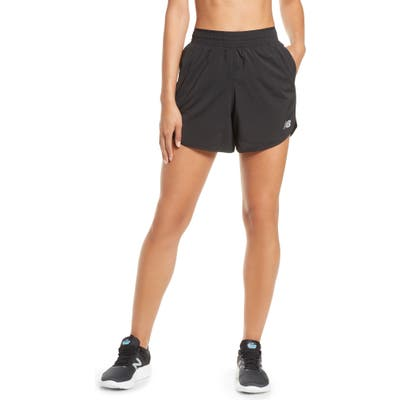 New Balance Accelerate Shorts, Black